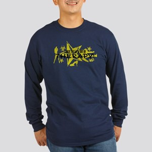 I ROCK THE S#%! - THERAPY Long Sleeve Dark T-Shirt