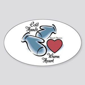 Raynaud's Phenomenon Sticker (Oval)