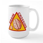 Large Brain Crossing Mug