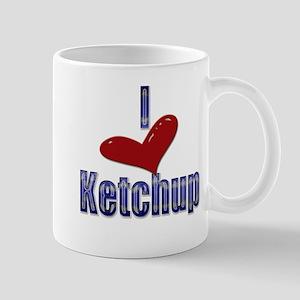 I love Ketchup Funny LOL Desi Mug