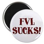 """FVL Sucks! 2.25"""" Magnet (100 pack)"""