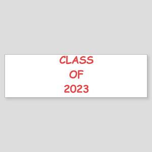 CLASS OF 2023 Sticker (Bumper)