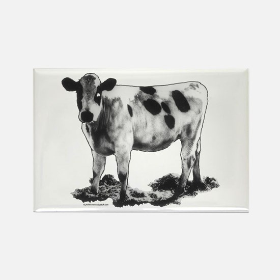 Spotted Cow Rectangle Magnet