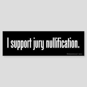 Jury Nullification Sticker (Bumper)