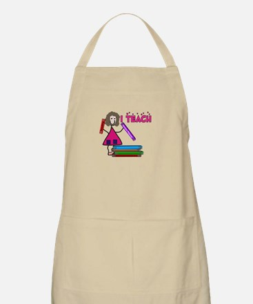 Stick People Occupations Apron