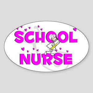 Nurse XX Sticker (Oval)