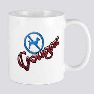 No Dogs, Cougar Town Mug