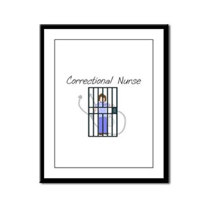 Nurse XX Framed Panel Print