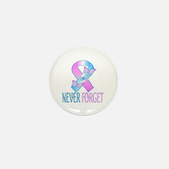 Pregnancy & Infant Loss Ribbon Mini Button