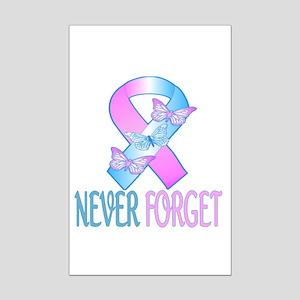 Pregnancy & Infant Loss Ribbon Mini Poster Pri