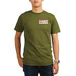 CCMR TV News Organic Men's T-Shirt (dark)