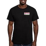 CCMR TV News Men's Fitted T-Shirt (dark)