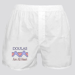 Doulas Are All Heart Boxer Shorts