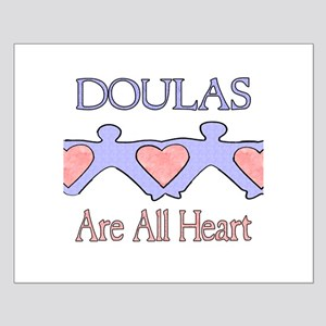Doulas Are All Heart Small Poster