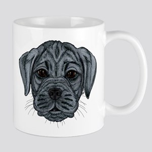 Black Puggle Mug