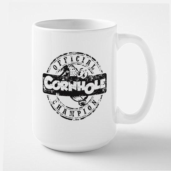 Cornhole Champion Large Mug
