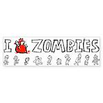 Ten Little Zombies: The Bumper Sticker