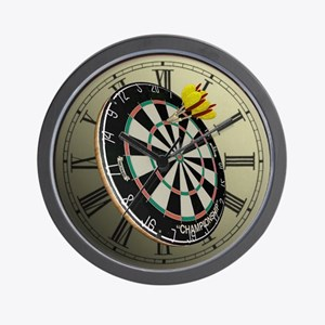 Dartboard Wall Clock