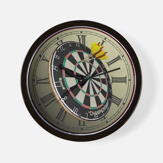 Dartboard Wall Clock
