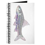 Congo Barb Inverse Line draw Journal