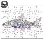 Congo Barb Inverse Line draw Puzzle