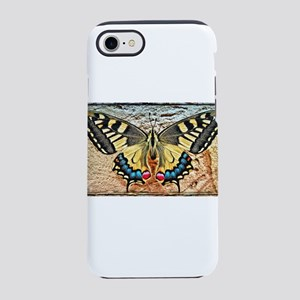 butterfly colorful art design iPhone 7 Tough Case