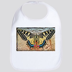 butterfly colorful art design Baby Bib