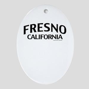 Fresno Ornament (Oval)
