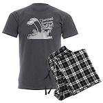I Survived Hurricane Dorian Men's Charcoal Pajamas