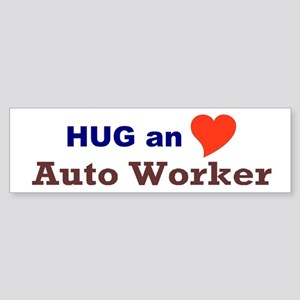 Auto Worker Sticker (Bumper)