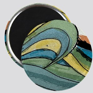 Waves by Joe Monica Magnet