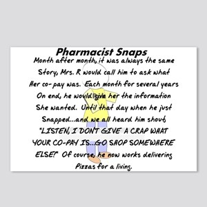Pharmacist Story Art Postcards (Package of 8)