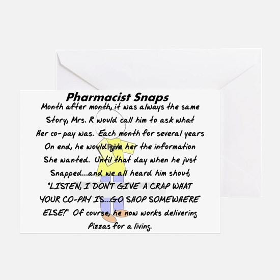 Pharmacist Story Art Greeting Card