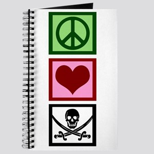 Peace Love Pirates Journal