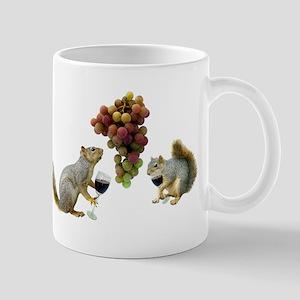 Squirrels Wine Tasting Mug