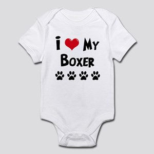 Boxer Infant Bodysuit