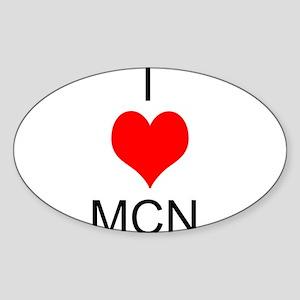 Mums: Sticker (Oval)