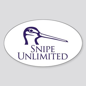 Snipe Unlimited Oval Sticker