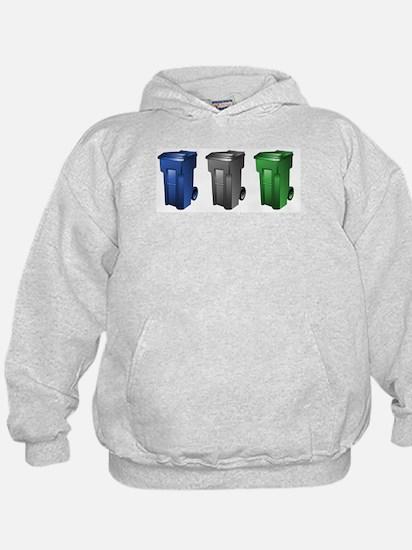 Cute Recycle can Hoodie