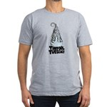 Tinfoil Tuesday Men's Fitted T-Shirt (dark)