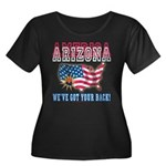 Arizona - America Women's Plus Size Scoop Neck Dar