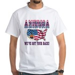 Arizona - America White T-Shirt
