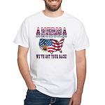 Arizona - America White T-Shirt