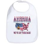 Arizona - America Bib