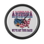 Arizona - America Large Wall Clock