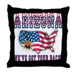 Arizona - America Throw Pillow