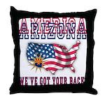 Arizona - America Throw Pillow