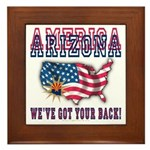Arizona - America Framed Tile