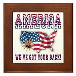Arizona - America Framed Tile