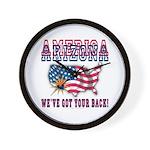 Arizona - America Wall Clock